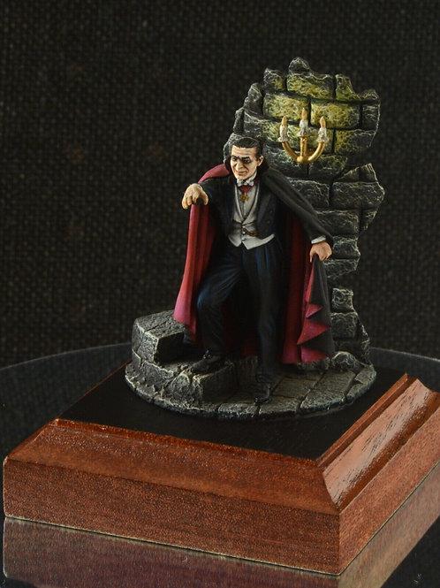 Count Dracula figure handpainted