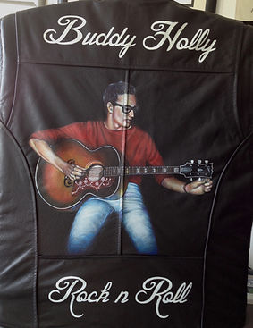 Buddy Holly guitar jacket baldy holly