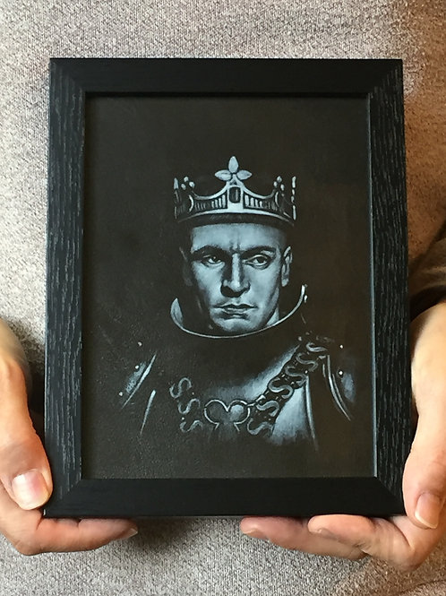 Henry V (with crown) portrait