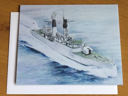 SALE HMS Lincoln small card