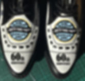 hand painted shoes Winter Dance Party Surf Ballroom Clear Lake Iowa 60th anniversary Richie Ritchie Valens Big Bopper Buddy Holly Holley
