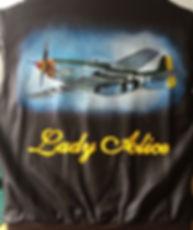 Lady Alice plane