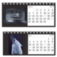 Calendar 2017 desk top artist karl hamilton-cox
