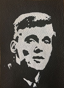 BILLY FURY LEATHER PATCH