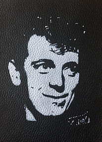 GENE VINCENT LEATHER jacket PATCH