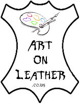 Art on Leather logo
