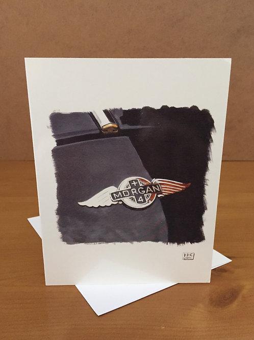 SALE Morgan Badge x 4 small card