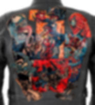tattoo leather jacket art