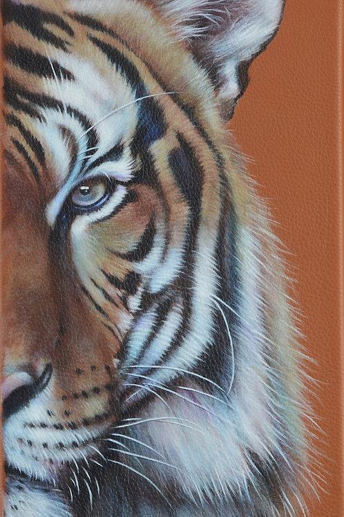Tiger Gaze (right half of Diptych)