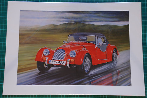 Morgan Roadster Limited Edition print SALE
