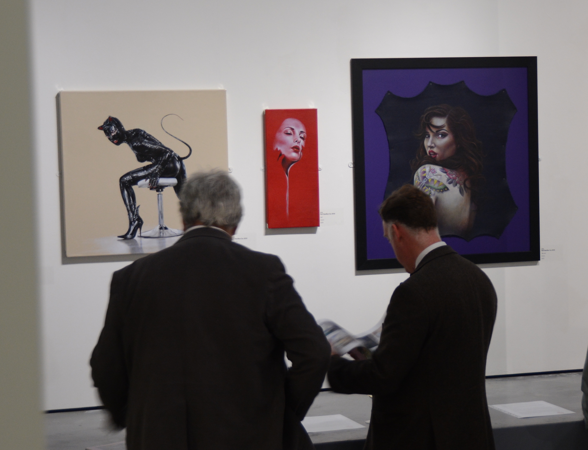 Mall Galleries London 2015