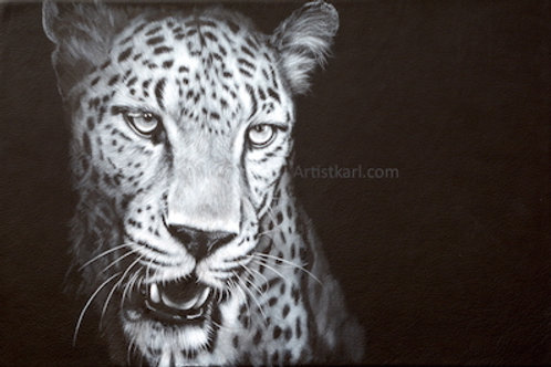 SALE Night Shadow signed mounted print