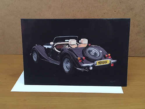 SALE Morgan Car black medium card