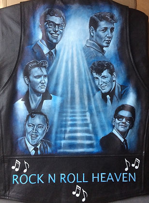 Buddy Holly Bill Haley Hayley Elvis Presley Heaven portrait
