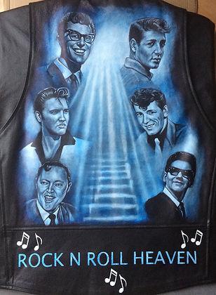 Buddy Holly Bill Haley Hayley Elvis Presley Heaven portrait