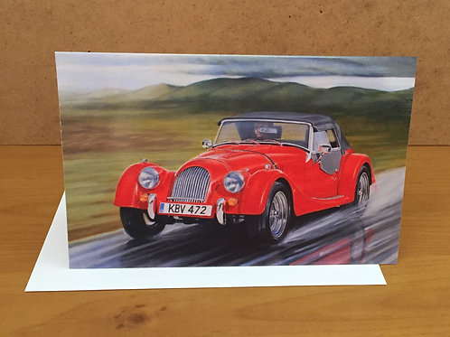 SALE Morgan Roadster Red medium card