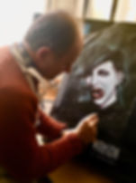 Karl painting Marilyn Manson.jpeg