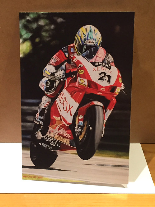 SALE Troy Bayliss medium card