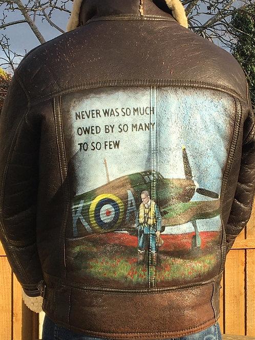 Hurricane tribute - leather jacket