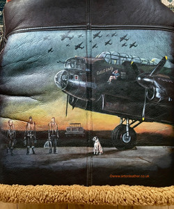 Lancaster Sweet Lady nose art