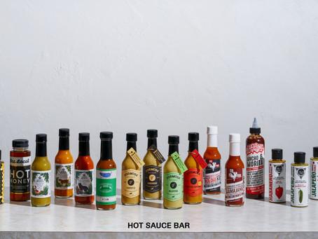 """日本初! オールナチュラルクラフトホットソース専門店""""Hot Sauce Bar"""""""