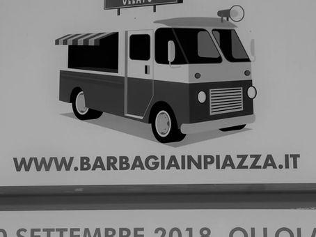 Rit naar het foodtruckfestival in Ollolaï Sardinië