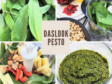 Pesto van Daslook maken