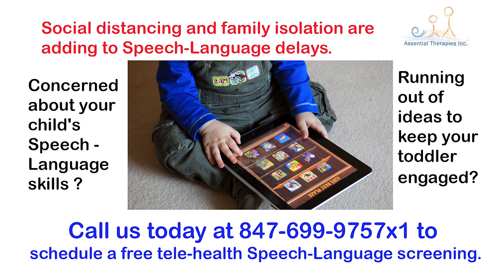 Social distancing and family isolation are adding to Speech-Language delays. Are you concerned about your child's speech-language skills? Are you running out of ideas to keep your toddler engaged? We have over 20 years of expertise.