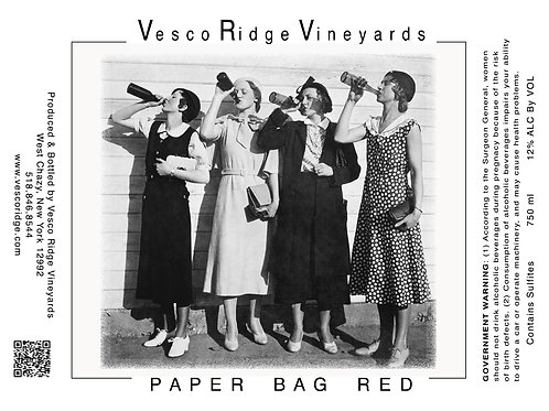 Paper Bag Red
