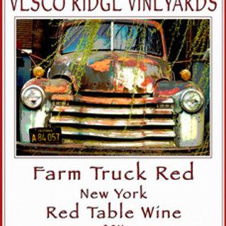 Farm Truck Red