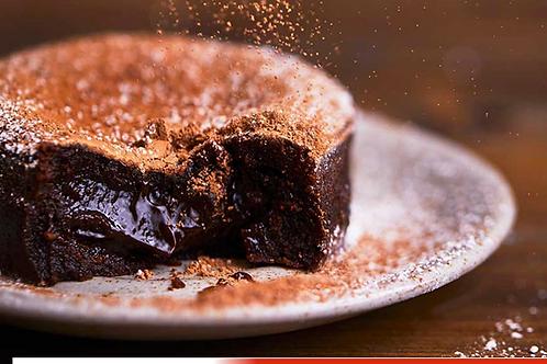 Moelleux au chocolat noir Callebaut (à cuire soi même)