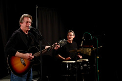 Denny and Rob Performing