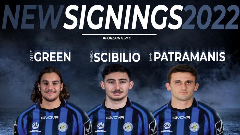 INTER FINALISE THREE MAJOR SIGNING'S
