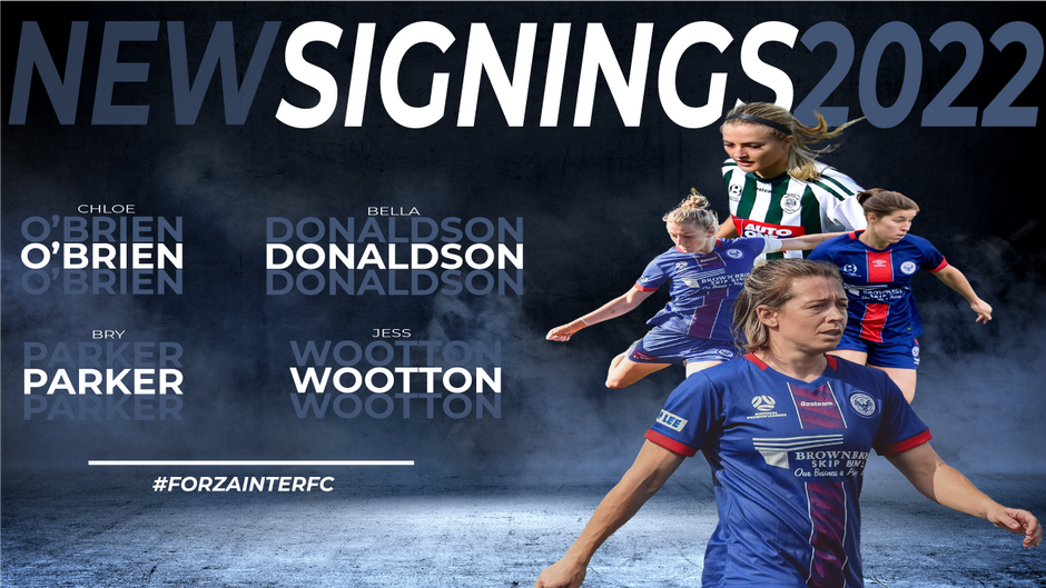 New Signings for 2022