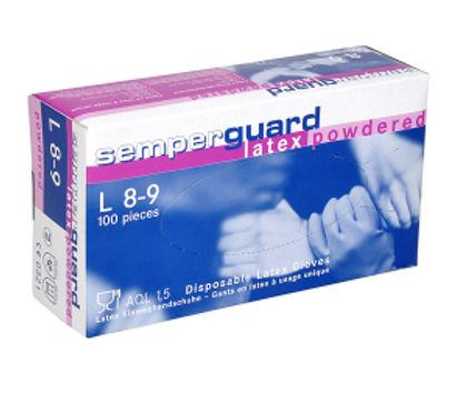 Latex-Einweghandschuhe-gepudert-Box-r-10