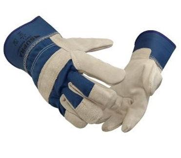 Rindspaltleder-Handschuh-Supra-1501-Rott