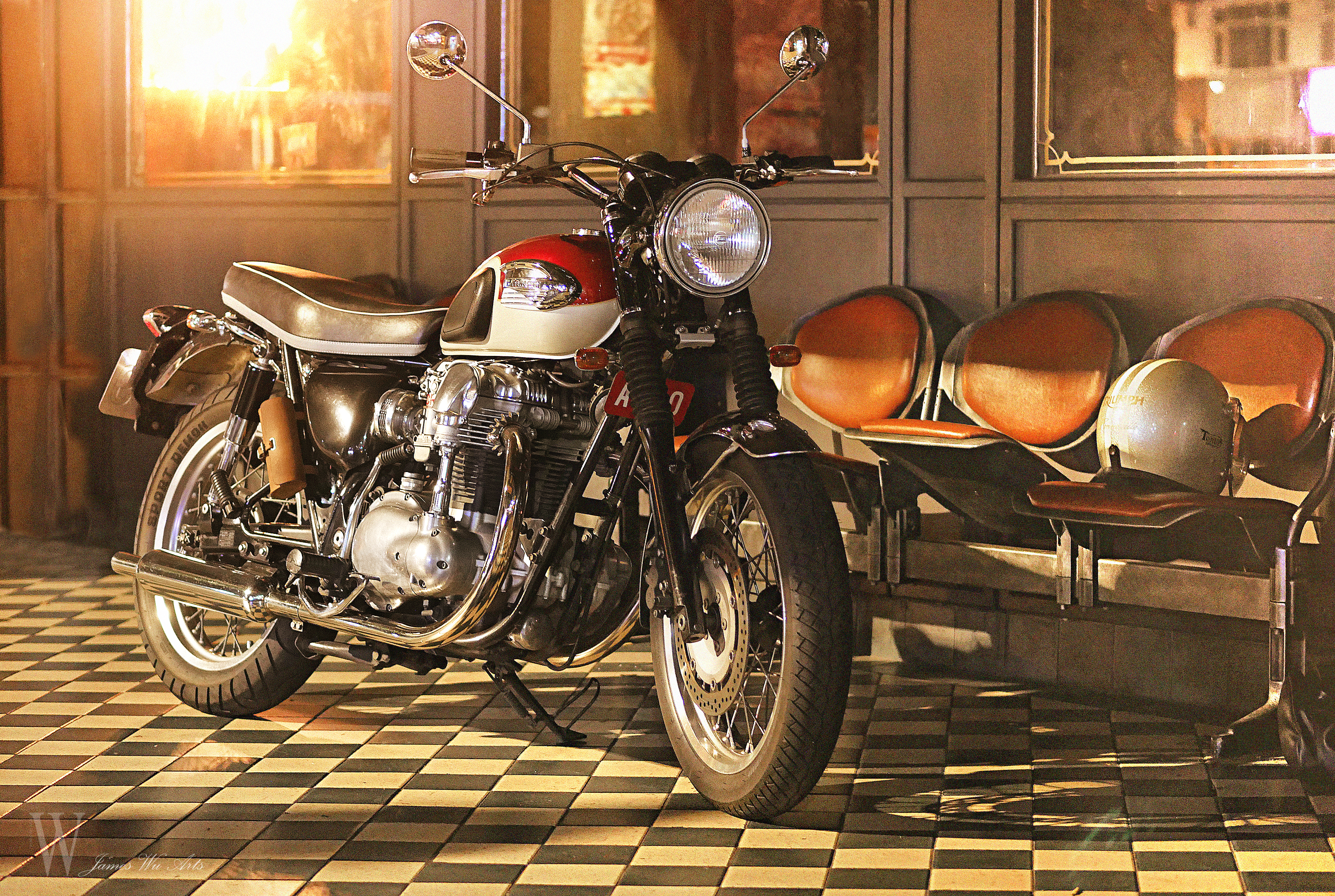 TONUP ROCKERS CAFE RACER (202)