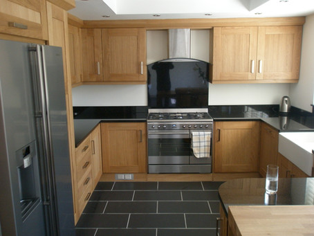 Classic Solid Wood Kitchen
