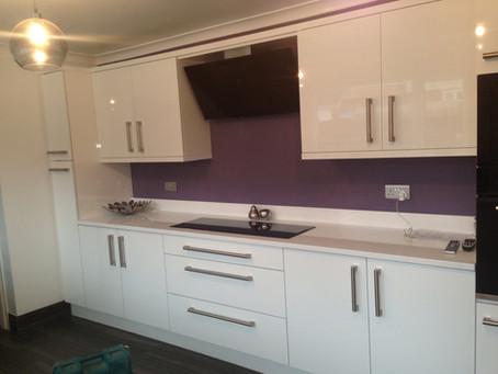 Hi Gloss White Modern Kitchen