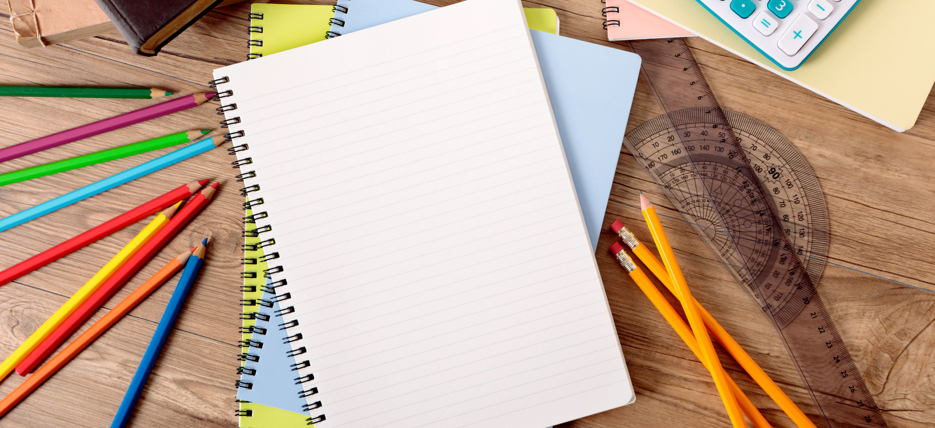 Essential school supplies for distance learning