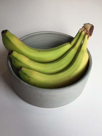 Grey shallow dish - medium