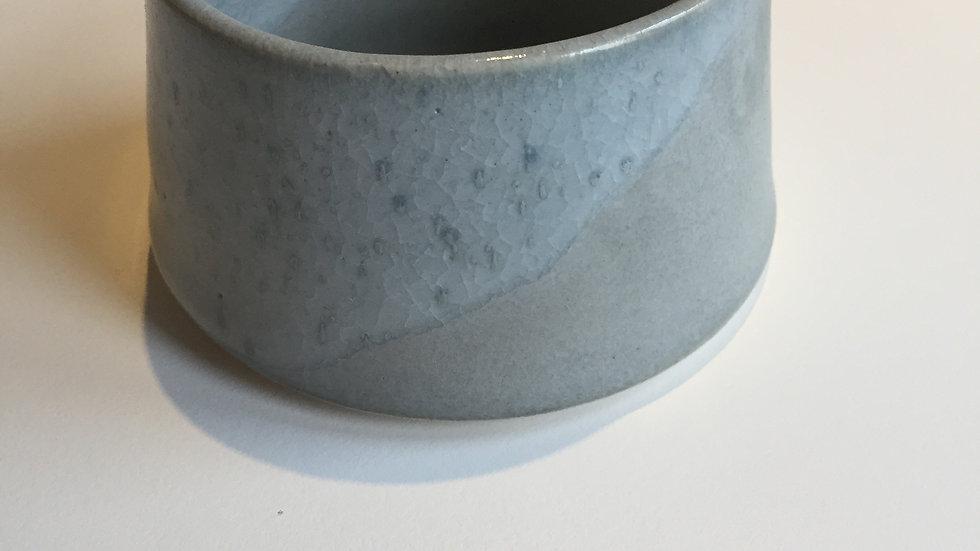 Grey shallow milk jug - small
