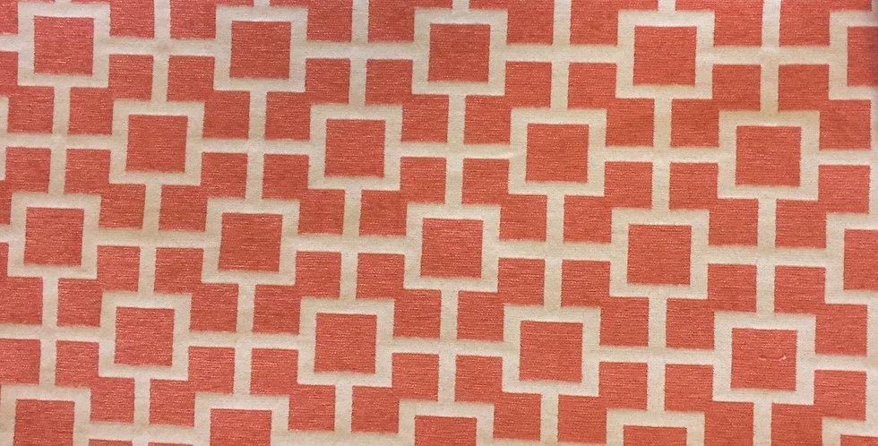 Coral - Modern - Fret - Geometric