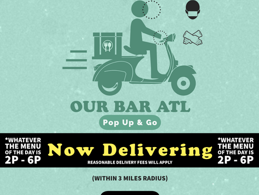 Our Bar ATL: Open Chef Spots for Pop-Up & Go!