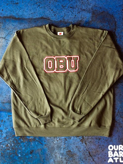 (Lg) OBU - White+ Red, Blue
