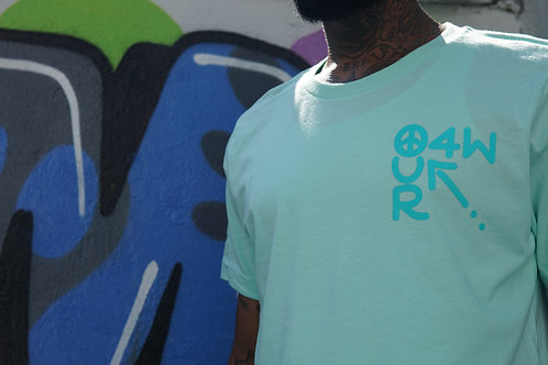 OUR O4W - Mint Bella + Canvas Tee