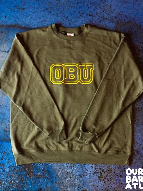 (XL) OBU - Gold + White, Green