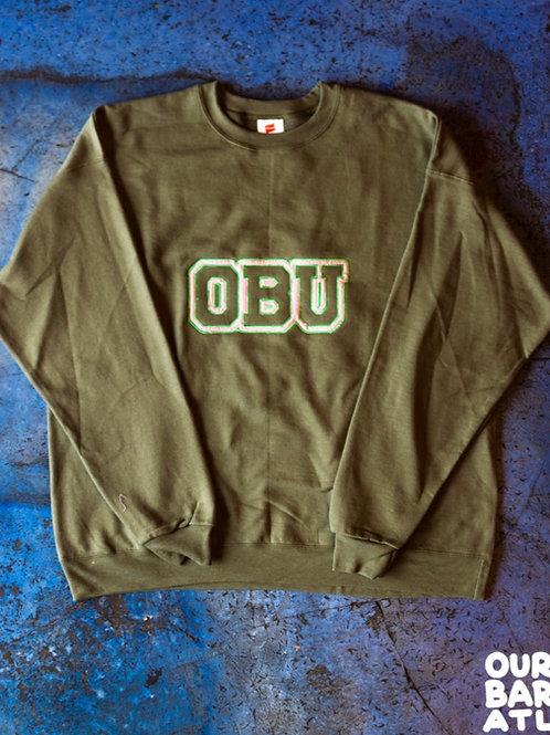 (XL) OBU - Pink, Green