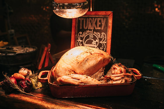 An open invitation to those who don't have a family, or maybe just don't like their family...join us for Thanksgiving Dinner!