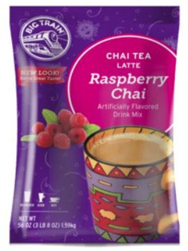 Big Train Chai Tea Mix - Raspberry Chai, Single Serve
